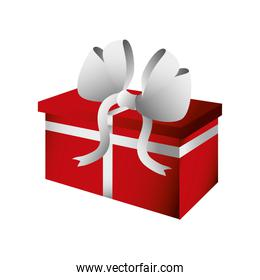 boxing day, wrapped gift box with ribbon christmas seasonal offer