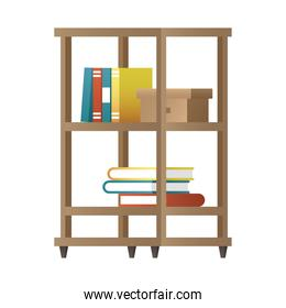 books case forniture house icon