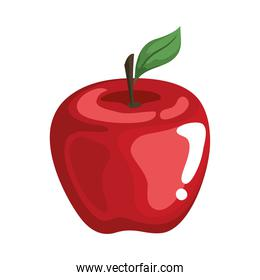 apple fruit icon vector design