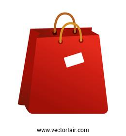 shopping bag commercial isolated icon