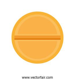 pill medical drug isolated icon