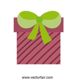 gift box celebration party icon white background