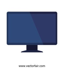 desktop computer device technology isolated icon