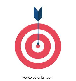 target with arrow success icon