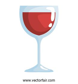 crystal wine cup drink icon