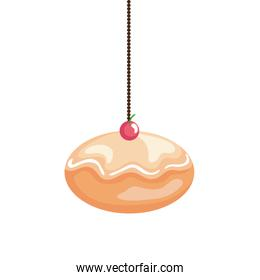 delicious jewish sweet donut hanging