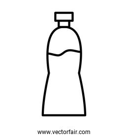 water bottle line style icon