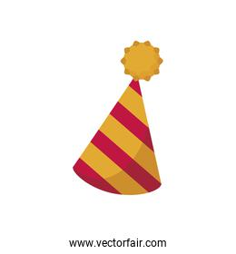 party hat cone flat style icon