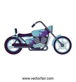 chopper motorcycle style vehicle icon