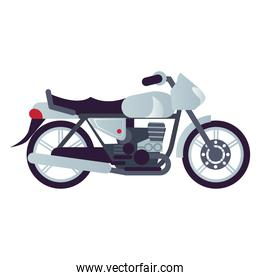 brat motorcycle style vehicle icon