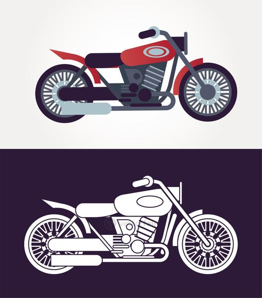 tracker motorcycles style vehicles icons