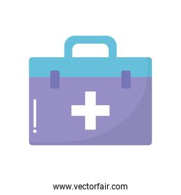 doctor suitcase with a cross