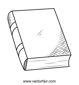 academic book icon, hand draw style