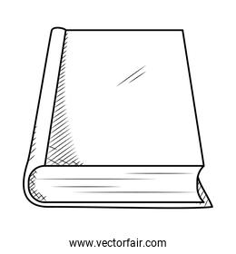 book icon, hand draw style