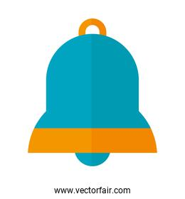 bell icon image, flat style