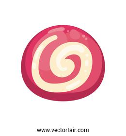 sweet candy icon vector design