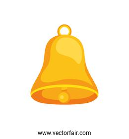 bell icon isolated vector design