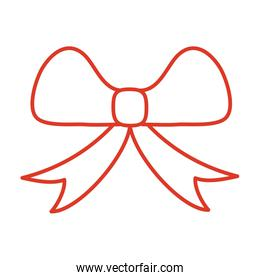 Gift bow icon vector design
