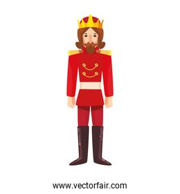 Isolated prince toy vector design