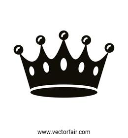crown king royal silhouette style