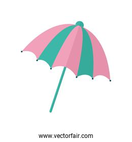 umbrella with a pink and green color