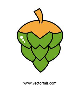 hop seed oktoberfest line and fill style
