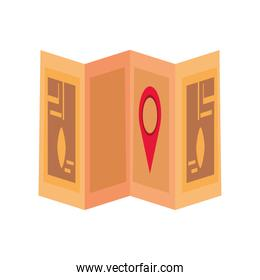 delivery gps navigation map pointer location icon