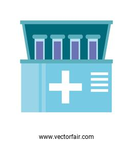 medical equipment laboratory test tubes kit testing
