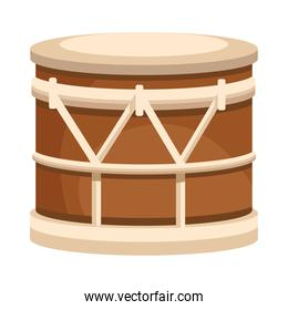 drum musical instrument isolated icon