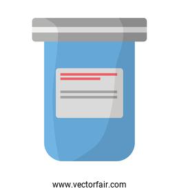 medicine drugs pot isolated icon