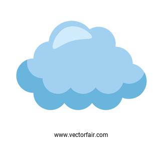 cloud sky weather isolated icon