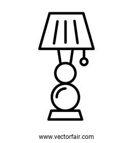 lamp bedroom forniture line style icon