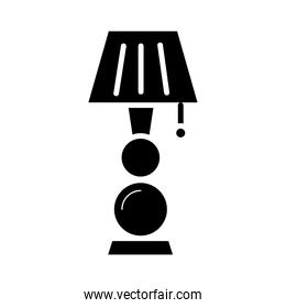 lamp bedroom forniture silhouette style icon