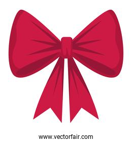 happy merry christmas red bow ribbon decoration