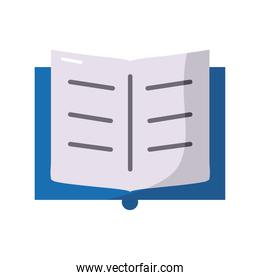 text book school supply isolated style icon
