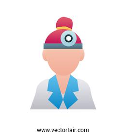 doctor female avatar character icon