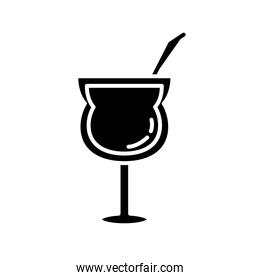 cocktail cup drink silhouette style icon