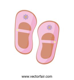 baby girl shoes clothes flat style icon