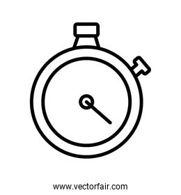 timer chronometer counter line style