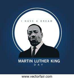 martin luther king character celebration day