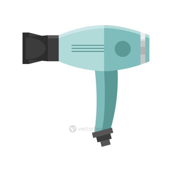 hair dryer house appliance isolated icon
