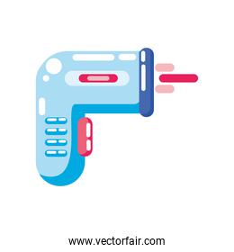 covid 19 virus electronic thermometer vector design