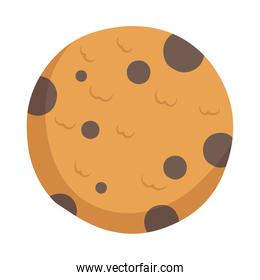 delicious cookie sweet pastry icon