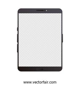 tablet mockup device isolated icon