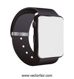 smartwatch mockup device isolated icon
