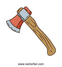 ax camping tool  supply icon