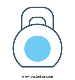 dumbbell icon image, line style