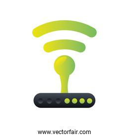 digital marketing router internet connection