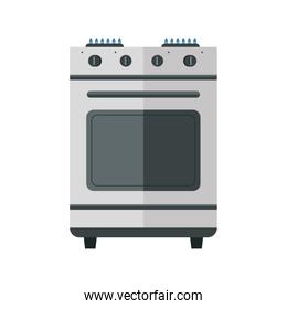 kitchen oven house appliance isolated icon