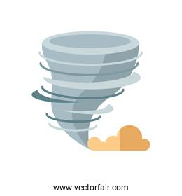 twister icon isolated vector design